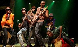 Music from the cultural melting pot ofVictoria Falls.